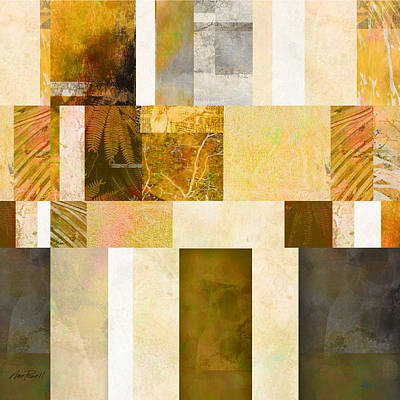 Digital Art - Abstraction On A Square Two  by Ann Powell