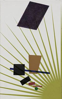 Art Print featuring the photograph Abstractions by Allen Beilschmidt