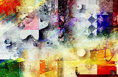 Forms Digital Art - Abstracture - 052061049at1-sp1tb2 by Variance Collections