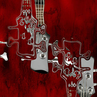 Red Abstracts Digital Art - Abstrait En Do Majeur - S02t02a by Variance Collections