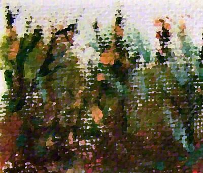 Digital Art - Abstrakt In Grun by YoursByShores Isabella Shores