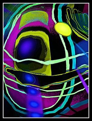 Digital Art - Abstrakte Inspiration by Gertrude Scheffler