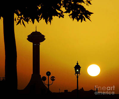 Art Print featuring the photograph Abu Dhabi by Andrea Anderegg