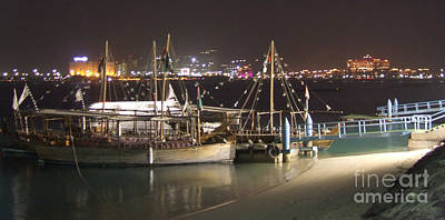 Photograph - Abu Dhabi At Night by Andrea Anderegg