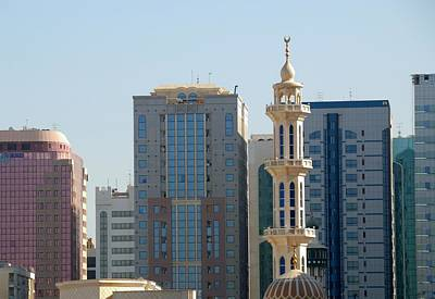 Photograph - Abu Dhabi City Center by Steven Richman