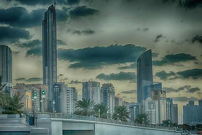 Photograph - Abu Dhabi Cityscape by Munir El Kadi
