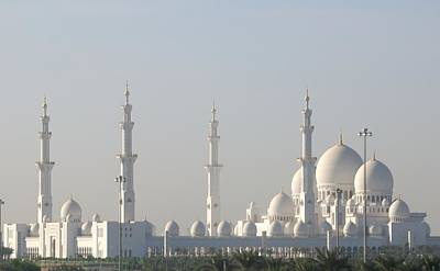 Photograph - Abu Dhabi Sheikh Zayed Grand Mosque by Steven Richman