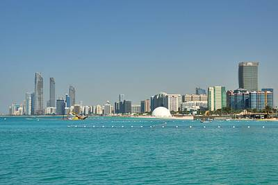 Photograph - Abu Dhabi Skyline by Steven Richman