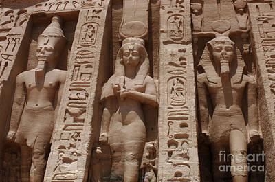 Abu Simbel Photograph - Abu Simbel Egypt 1 by Bob Christopher