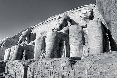 Photograph - Abu Simbel - Monument To A Pharaoh by Mark E Tisdale