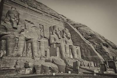 Achieving - Abu Simbel Temple  by Jaroslav Frank