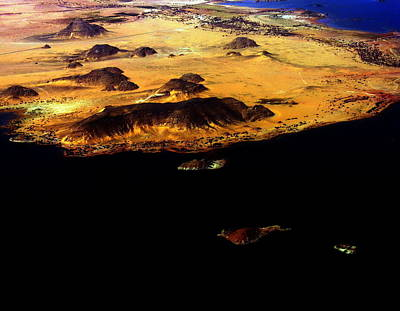 Photograph - Abu Simbel View From Above - Egypt Antiquity by Jacqueline M Lewis