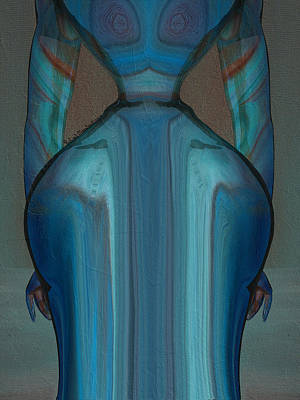 Abuela Art Print by Robert Maestas