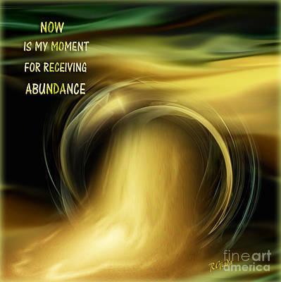 Abundance - Inspirational Art By Giada Rossi Art Print by Giada Rossi