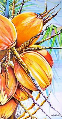 Abundance Art Print by Julie  Hoyle