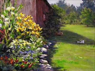 Painting - Abundance by Karen Ilari
