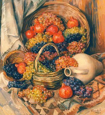 Armenian Painting - Abundance Of Tastes by Meruzhan Khachatryan