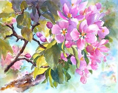 Abundant Grace Art Print by Betty M M   Wong