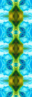 Kaleidoscope Painting - Abundant Life - Pattern Art By Sharon Cummings by Sharon Cummings