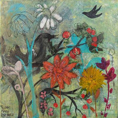 Painting - Abundant Thanks by Robin Maria Pedrero