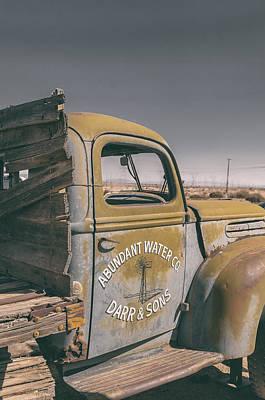 Old Trucks Photograph - Abundant Water by Joseph Smith