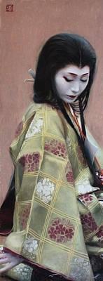 Abutsu-ni - Geisha Art Art Print