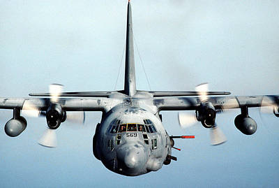 Sharpshooter Photograph - Ac-130h Spectre by Celestial Images