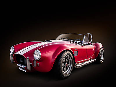 Cobra Wall Art - Digital Art - Ac Cobra by Douglas Pittman