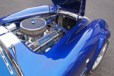 Photograph - Ac Cobra Engine Bay by Gill Billington