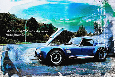 Cobra Mixed Media - Ac Cobra by Roger Lighterness
