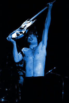 Photograph - Ac Dc #30 Enhanced In Blue by Ben Upham