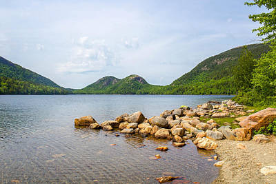 Acadia Bubble Mountains  Art Print