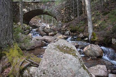 Acadia Carriage Road 1917 Bridge Original by Lena Hatch