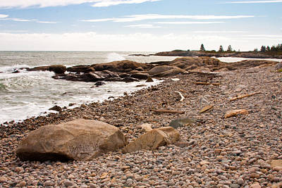 Photograph - Acadia Coast 8049 by Brent L Ander