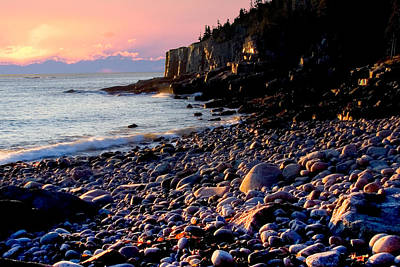 Photograph - Acadia Coast At Otter Cliffs 9772 by Brent L Ander