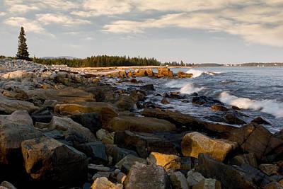 Photograph - Seawall At Acadia by Brent L Ander
