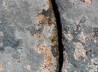 Photograph - Acadia Granite 20 by Mary Bedy