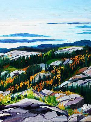 Acadia From Cadillac Original by Nancy Milano