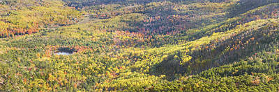 Photograph - Acadia National Park - Cadillac Mountain- Fall Folige- Maine by Keith Webber Jr