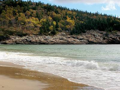 Photograph - Acadia National Park by Gene Cyr