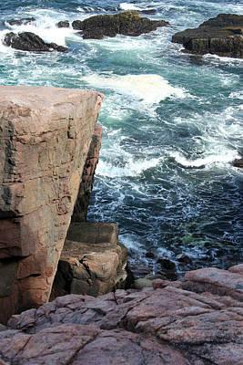 Photograph - Acadia Shoreline 18 by Mary Bedy