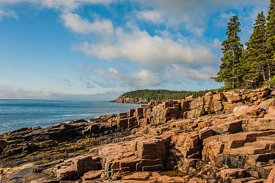 Photograph - Acadia Shoreline by Thomas Lavoie
