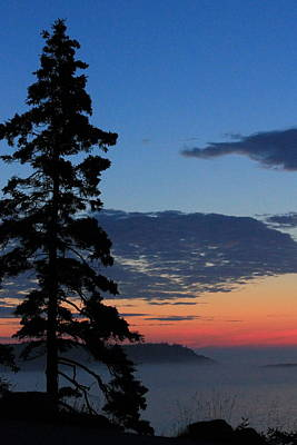 Photograph - Acadia Sunrise 4 by Jeff Heimlich