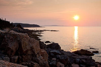 Photograph - Acadia Sunrise 5613 by Brent L Ander
