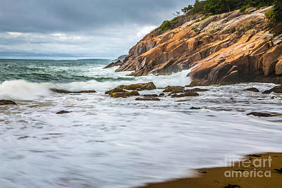 Photograph - Acadia Surge by Susan Cole Kelly