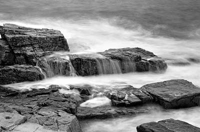 Photograph - Acadian Coastline - No 3 by Expressive Landscapes Nature Photography