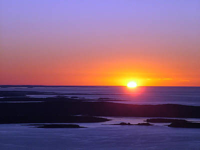 Photograph - Acadian Sunrise by Geoffrey McLean