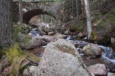 Acadia's Rockefeller Carriage Bridge   Original