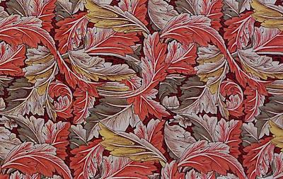 Digital Art - Acanthus Leaf by William Morris