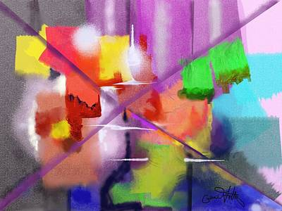 Painting - Accent On Color by Eugene Foltuz